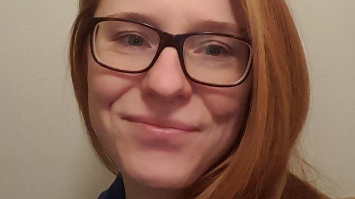 Lisa Hansson, fodersäljare Lantmännen, område Kronoberg, grovfoderersättare