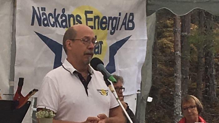 Näckåns energis VD Jan-Anders Carlsson
