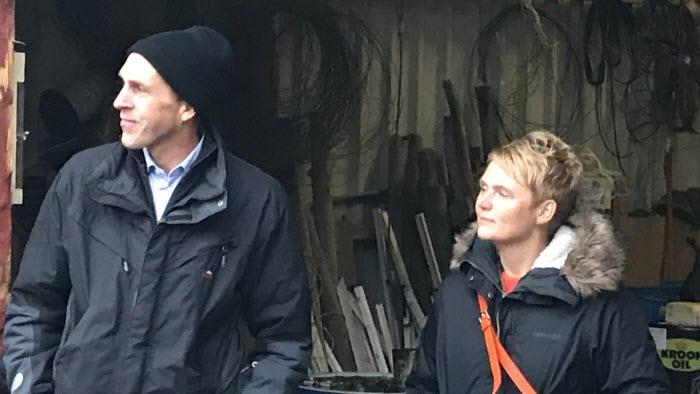 Martin Gunnarsson och Anna Karin Hatt