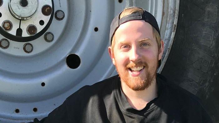 Patrik Larsson, ordförande LRF Ungdomen Väst