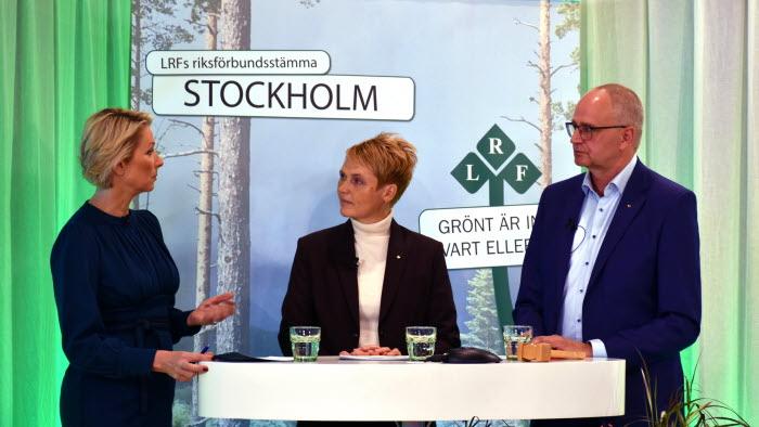 Annika Unt intervjuar Anna Karin Hatt och Palle Borgström