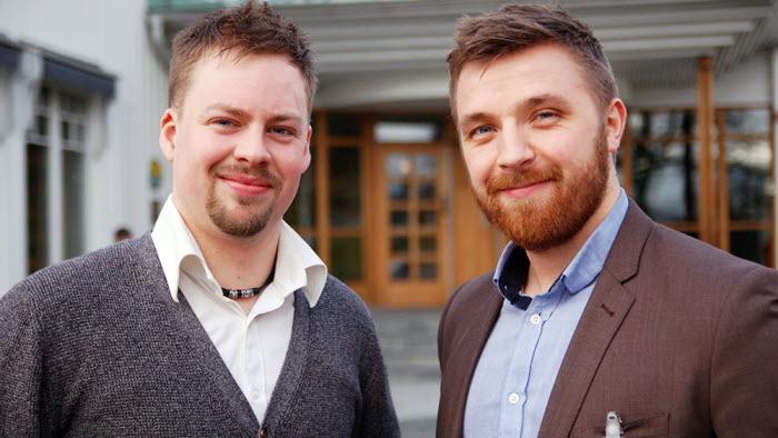 Christian Horn och Olof Eriksson ledamöter i LRF Ungdomen