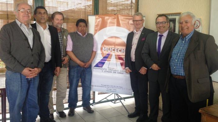 Möte med Chilenska bondeorganisationen