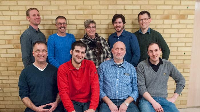 Styrelsen för LRFs kommungrupp i Essunga 2014. Foto: Elisabeth Kallblad