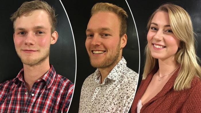 Tre nya ledamöter LRFU Sydost