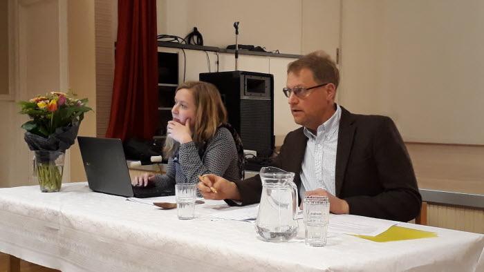 Catrin Gustavsson och Lars Gezelius