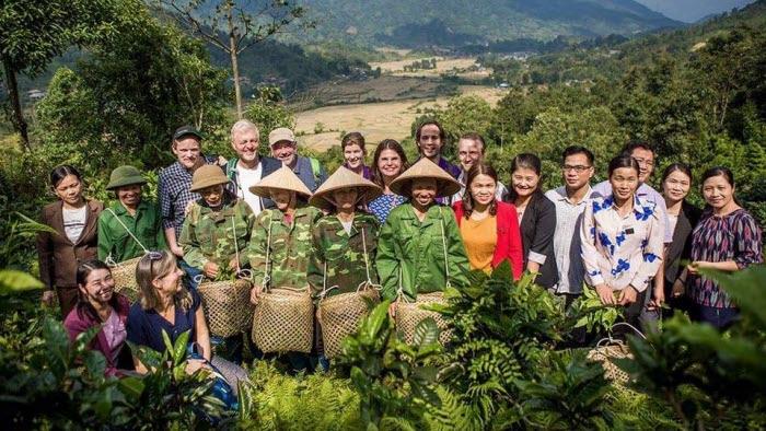 Besök vid vid Tekooperativet i Cho Dondistriktet Vietnam We Effect