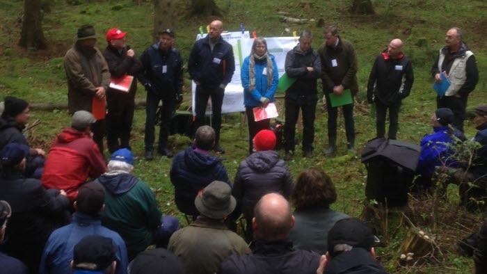 Föreningen Skogens höstexkursion i Skara stift