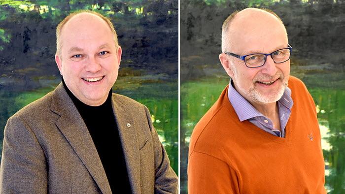 Lennart Nilsson och Bernt Hermansson