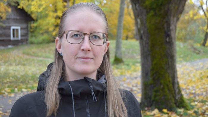 Kvinna höst Pernilla Spetz
