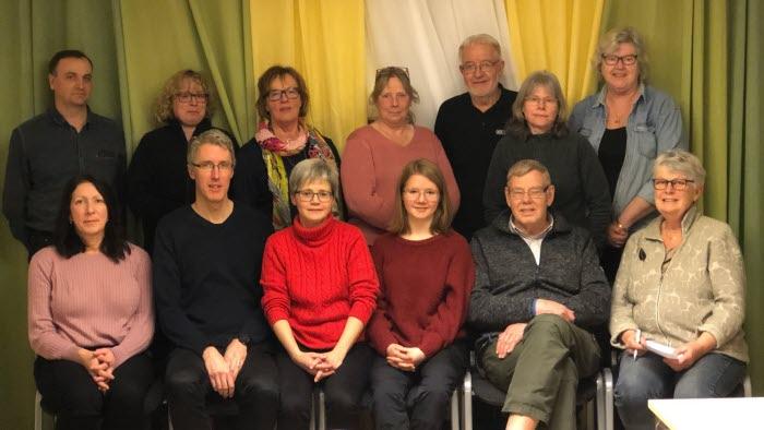 Deltagare motionsskrivarkväll Värmland januari 2020