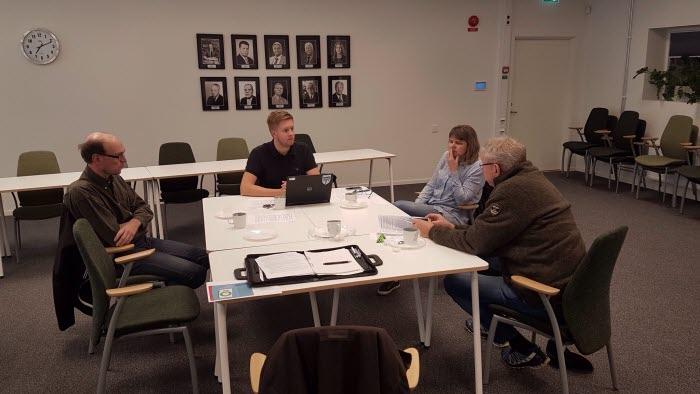 Osby kommungrupp träffar kommunen