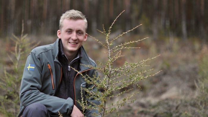 Filip Axelsson, lrf ungdom, skogsägare, drönare