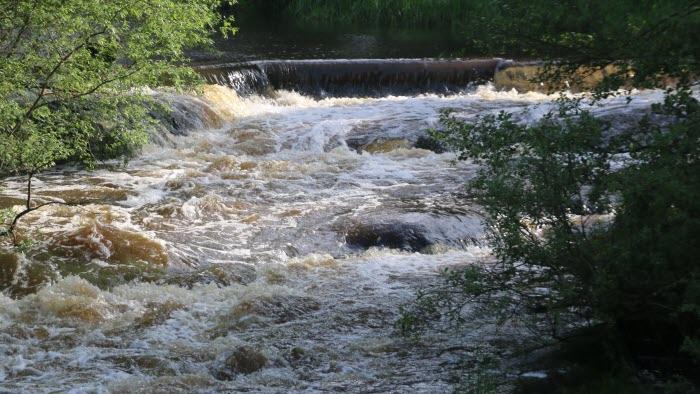 Forsande vatten Nossan