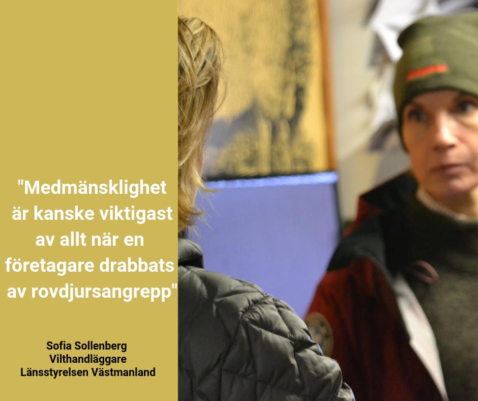 God myndighetsutövning - bild till Facebook, Sofie Sollenberg
