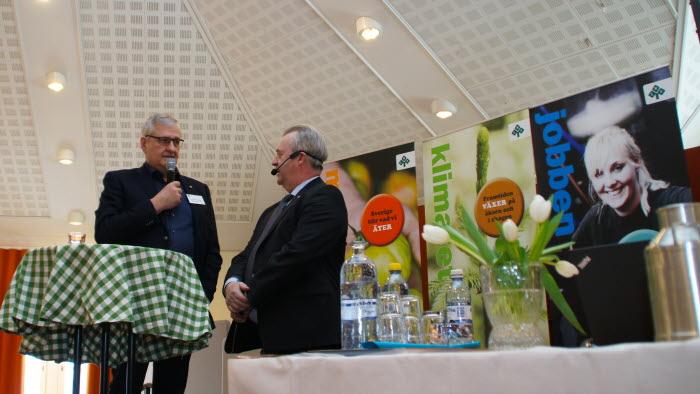 Landsbygdsminister Sven-Erik Bucht gästar stämman