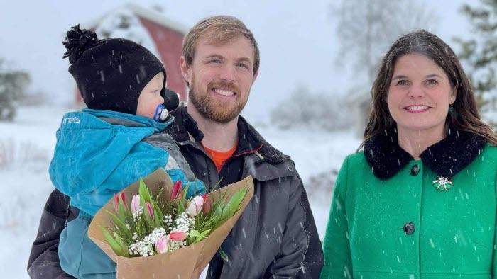 Aron och Johannes Löndahl samt Sofia Karlsson