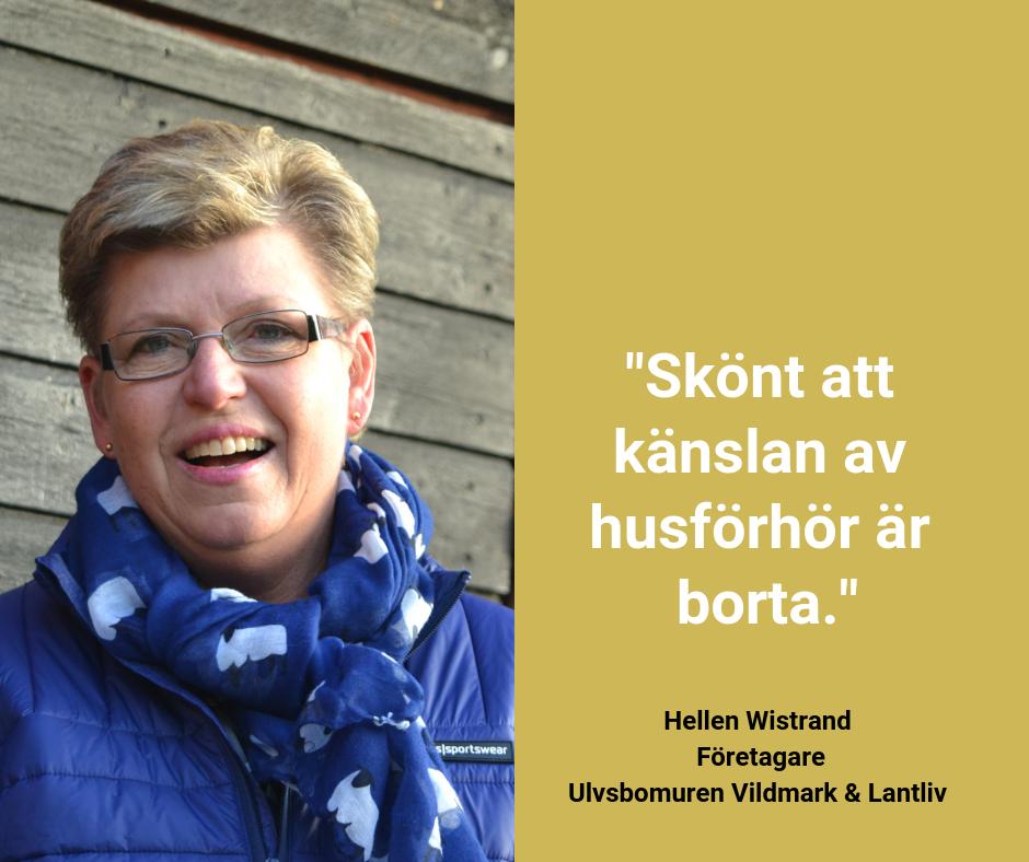 God myndighetsutövning - bild till Facebook, Hellen Wistrand