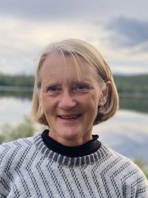 Karin Eickhoff porträtt