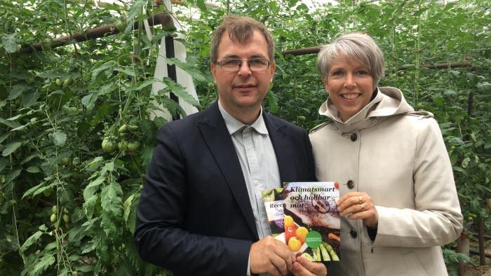 Marcus Söderlind och Helena Jonsson