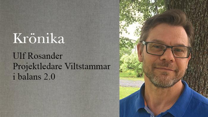 Ulf Rosander krönika