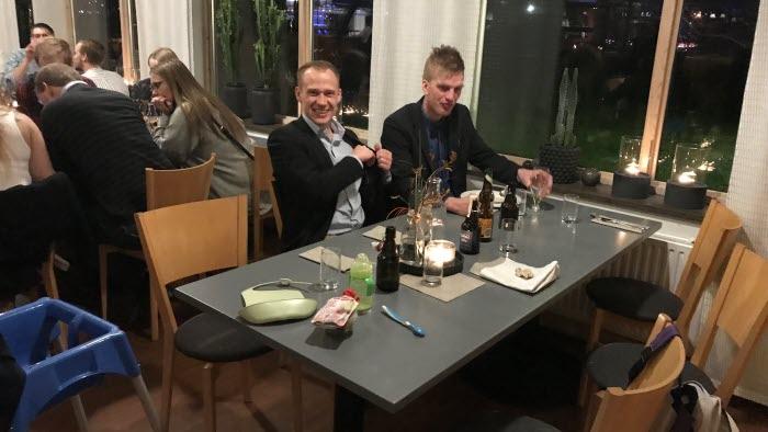 Patrik Holmgren och Oscar Ekström