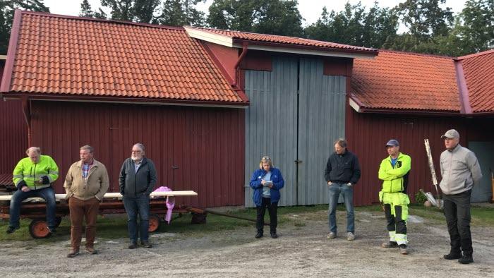 Elmöte ang Harsprångsledningen i Gransjöås
