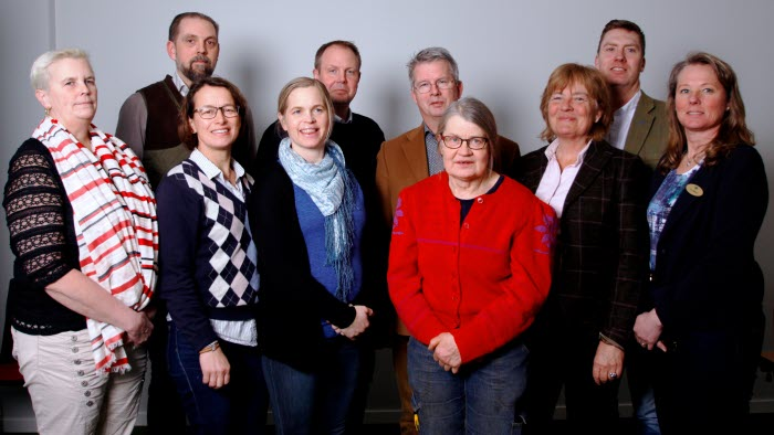 LRF Mälardalens styrelse 2018