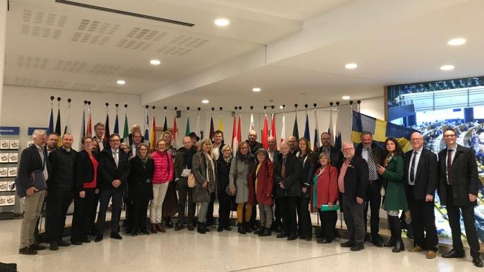 Studiebesök EU VG Halland  Värmland