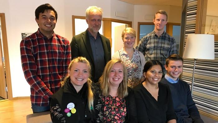 LRF Ungdomen Skaraborg på retorikutbildning