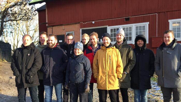 I början av december besökte de åtta finalisterna i Årets Kock fyra gårdar i Enköpingstrakten och Björkvik.