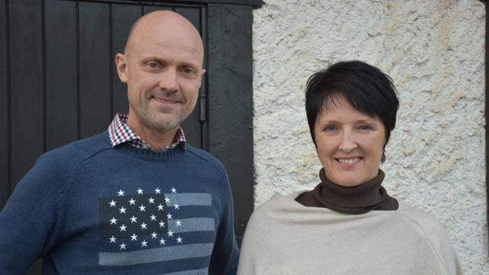 Anders Johansson och Louise Rundell