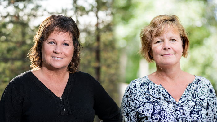 Lotta Folkesson och Åsa Odell. Båda har fått nya ordförandeuppdrag