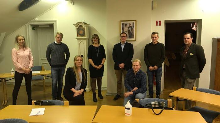 Nyvald styrelse för LRF Ungdomen Skaraborg vid årsmöte 2020