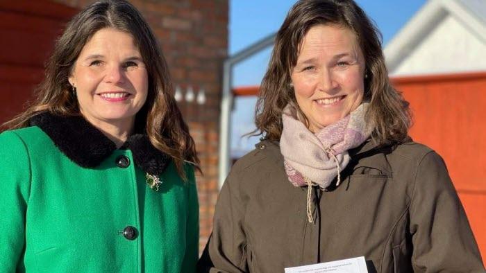 Sofia Karlsson och Malin Indebetou