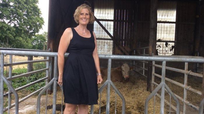 Elin Beckman,  Årets nötköttsföretagare i sörmland