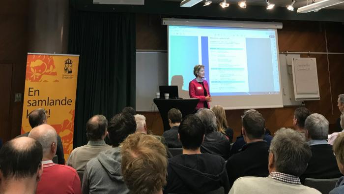 Möte om miljöprövning för vattenkraft i Örebro 6 mars 2019