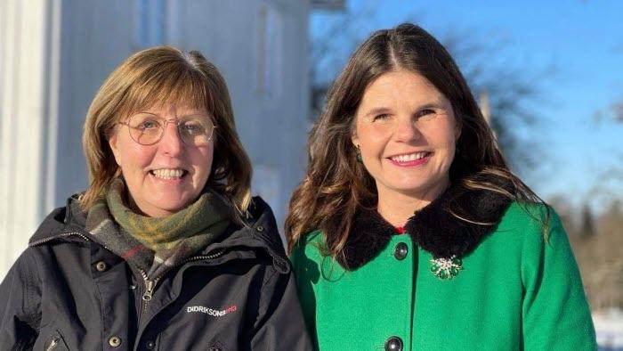 Katarina Johnsson och Sofia Karlsson