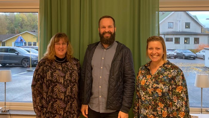 Ulrika Perssson LRF, Kristján Fannar och Susanne Thorsson, Destination Falkenberg