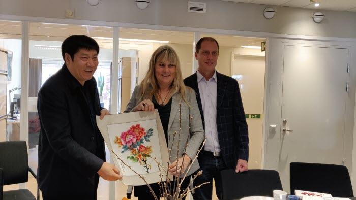 Besök från Kina hos LRF Värmland