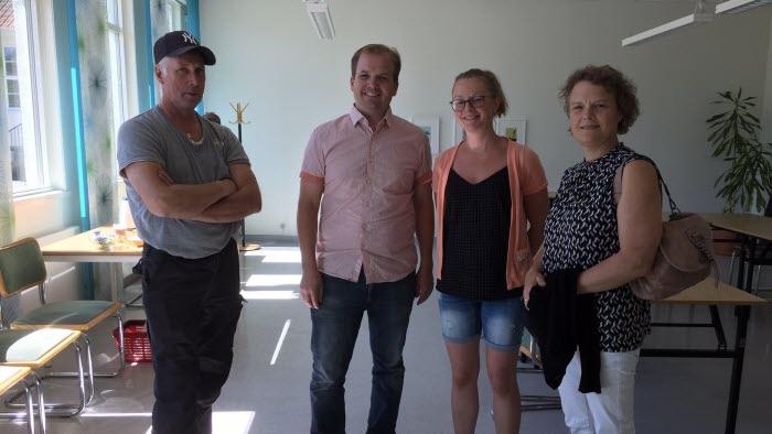 Jörgen Pettersson, Erik Brink, Mikaela Jardstedt och Karin Velander