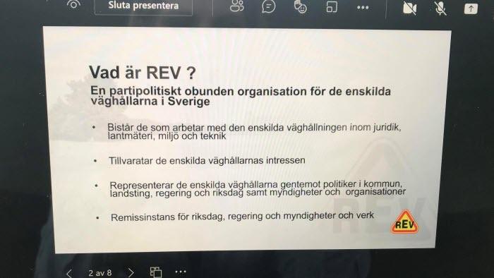 Vad är REV?