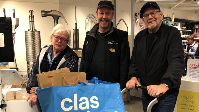LRF Samköpsevent hos Clas Ohlson på Bergvikk