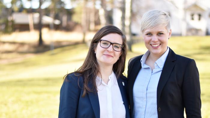 Katharina Weber och Matilda Göransson avgår från LRF Ungdomens riksstyrelse 2016