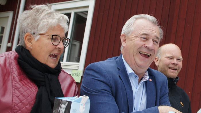 Landsbygdsministern besöker Renbergsvattnets lantbruk