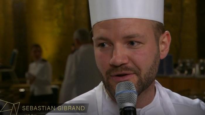 Sebastian Gibrand lyfte de hållbara svenska råvarorna på årets nobelmeny