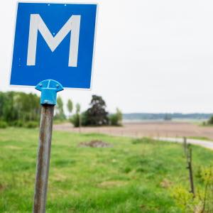 Plats för möte, vid Esplunda Lantbruk. Foto: Ester Sorri.