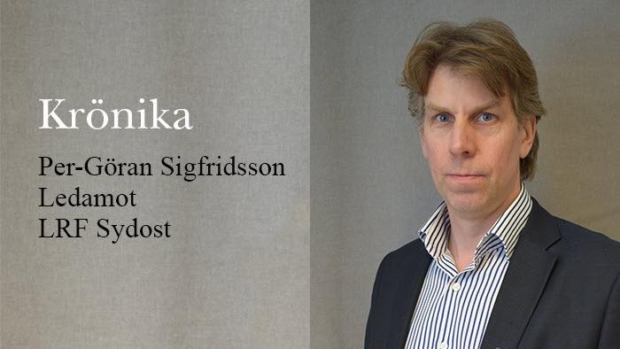 Krönika Per-Göran Sigfridsson