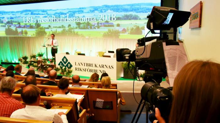 Ulf Kristersson på LRFs Riksförbundsstämma 2018
