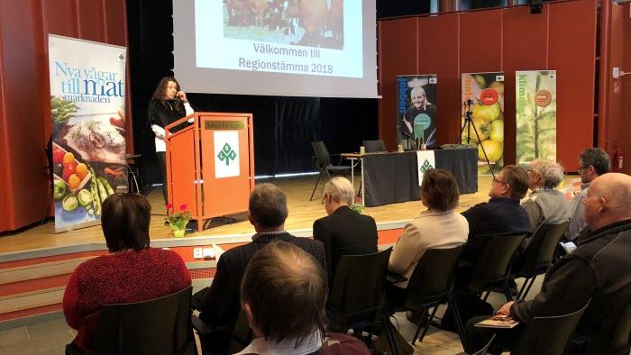 Stämma 2018, LRF Gävleborg, Maria Jonsson